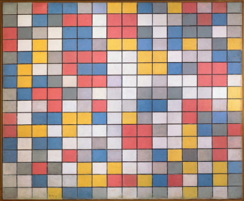 mondrian_checkerboard_1919 small
