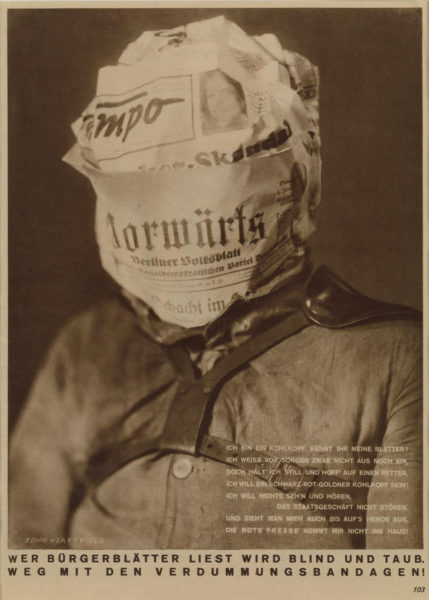 Whoever-reads-bourgeois-newspapers-becomes-blind-and-deaf-1930-by-John-Heartfield-429x600